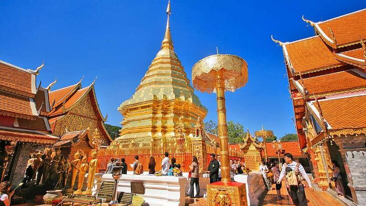 3. Chiang Mai - High Mountains and slower pace of life.